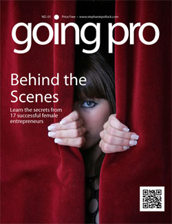 Going Pro online magazine Cover