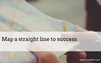 Map a straight line to success
