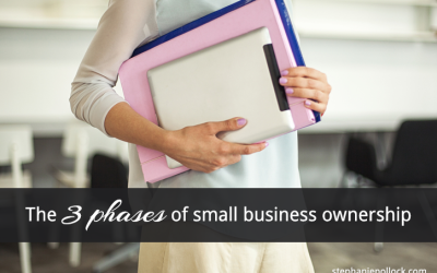 The 3 Phases of Small Business Ownership