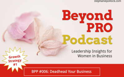 BPP #006: Growth Strategy No. 1, Deadhead your business