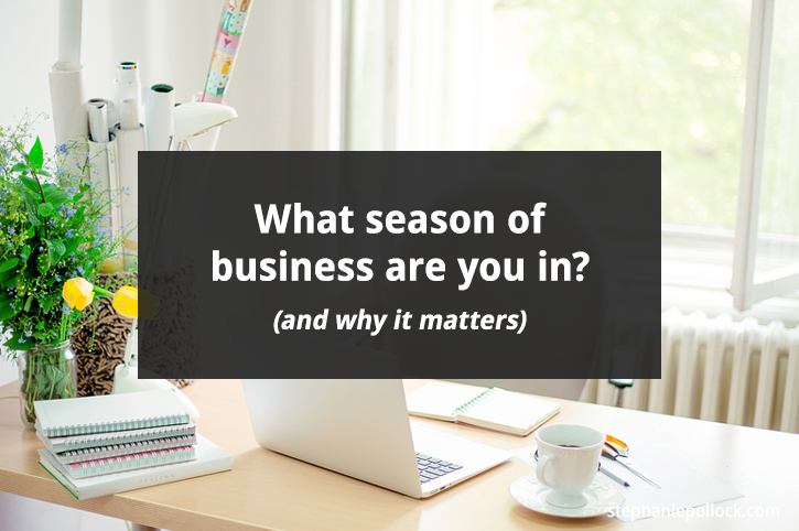 What season of business are you in? (and why it matters)